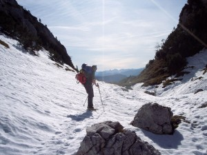 Schnee am Almberg