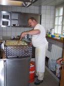 Roland, unser Chefkoch