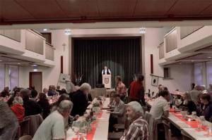 Großer Saal im Bürgerhaus nin Pottenstein