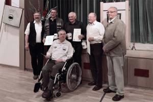 Ernennung der Ehrenmitglieder