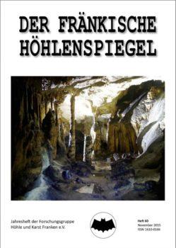Titelseite des Fränkischen Höhlenspiegel 60