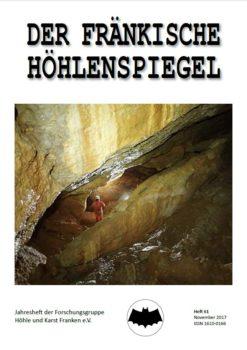 Titelseite des Fränkischen Höhlenspiegel 61