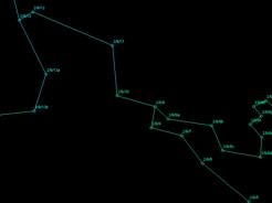 Das digitale Messzugmodell entsteht nach Bearbeitung in CaveRender
