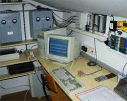 Höhlenlaber Rechnerraum
