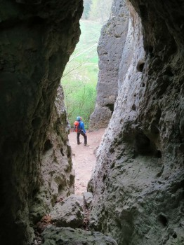 Höhle am Wetterstein Foto: Birgit Hoffmann